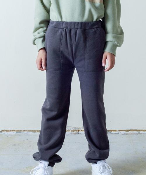 【&yam】ポケット付きウエストゴムジョガーパンツ