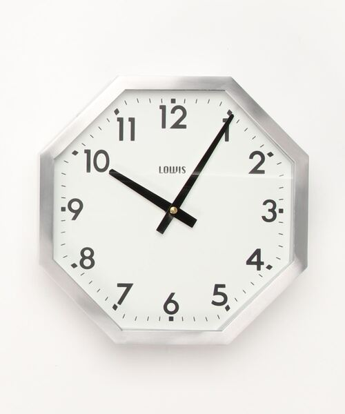Detail/ディテール Lowis Octagon Clock