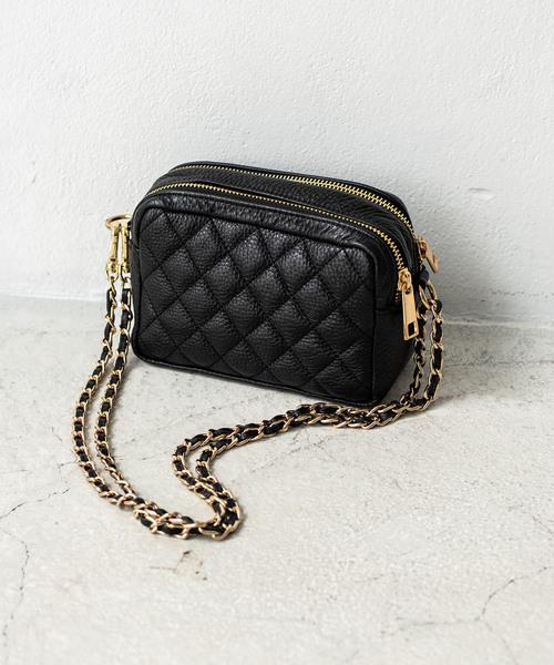 【在庫あり】 ダイヤキルトレザーミニショルダーバッグ(ショルダーバッグ)|Loungedress(ラウンジドレス)のファッション通販, ダントツonline:3a515ecc --- blog.buypower.ng
