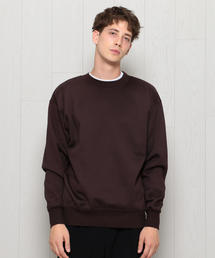 <H>CREW NECK SWEAT/スウェット