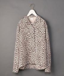 <6(ROKU)>LEOPARD PRINT SHIRT/シャツ