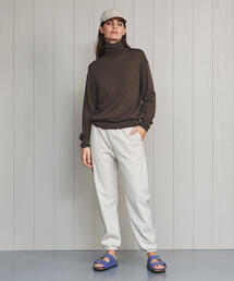 <H>CASHMERE TURTLE NECK KNIT/ニット