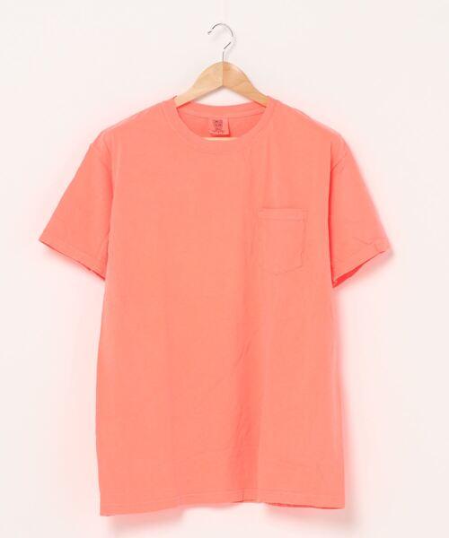 【 COMFORT COLORS / コンフォート カラーズ 】6.1オンス ガーメントダイポケットTシャツ ポケットTシャツ ポケT 6030
