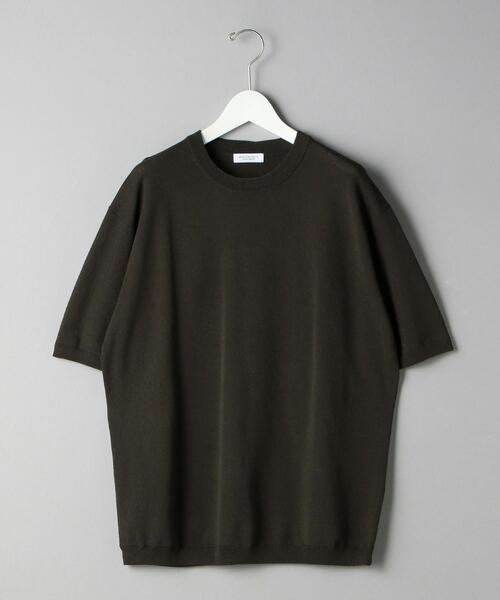 BY ピケ スムース ニット Tシャツ