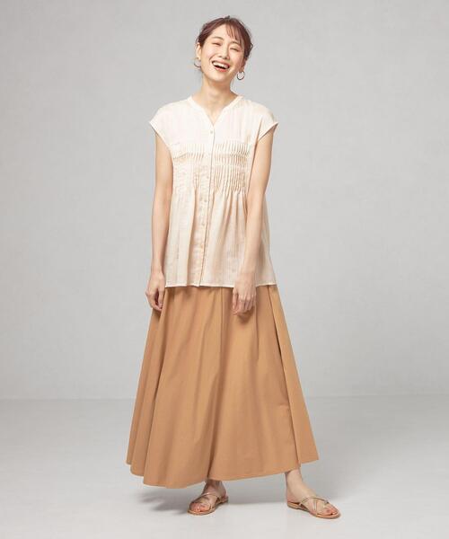 【予約】【WEB限定】<closet story>★★□ギャザー マキシスカート