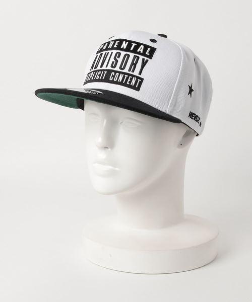 セール parental advisory parental コットン刺繍cap キャップ