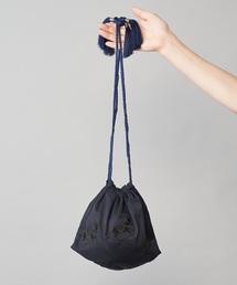 ear PAPILLONNER(イアパピヨネ)のミニ馬刺繍巾着(WEB限定)(トートバッグ)