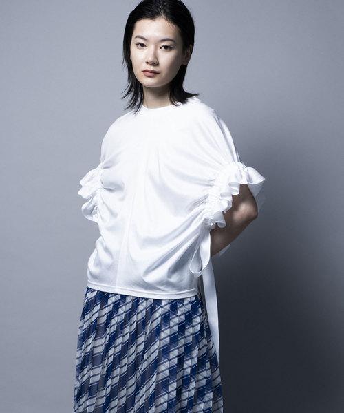 人気が高い ARM GATHER GATHER TOP/アームギャザートップ(Tシャツ/カットソー)|mintdesigns(ミントデザインズ)のファッション通販, アラモードキムラ:6446ad07 --- 5613dcaibao.eu.org