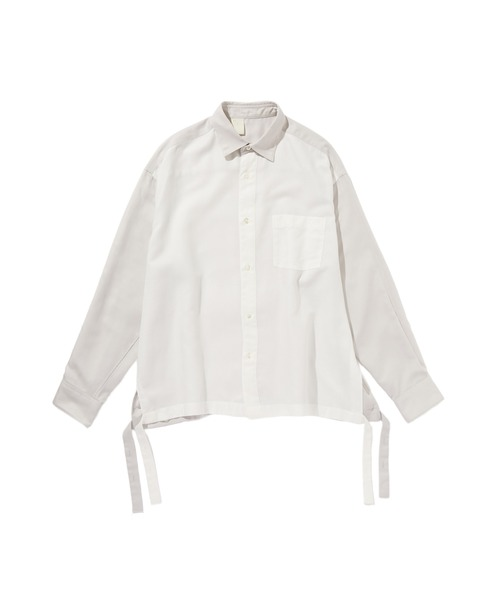 SPRING2020 SIDE SLIT SHIRT