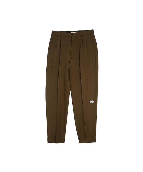 <JieDa> RAYON 2TUCK TAPERED PANTS/パンツ