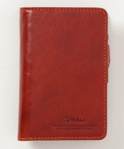 <ZONALe / RENZINA> イタリアンオイルレザー / L字ファスナー二つ折財布