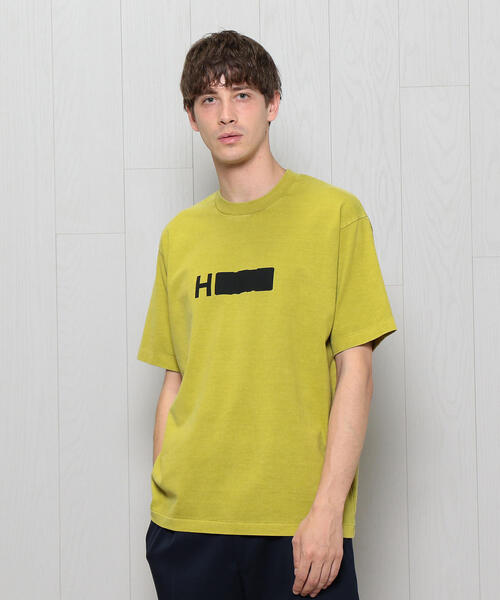 <H>LOGO PGMT CREW NECK SHORT SLEEVE T-SHIRT/Tシャツ