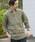 SHIPS(シップス)の「SC: BAIRD MCNUTT リネン リラックス 7スリーブ カプリ シャツ(シャツ/ブラウス)」|オリーブ