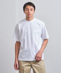 <UNITED ARROWS> クルーネック ポケット カットソー