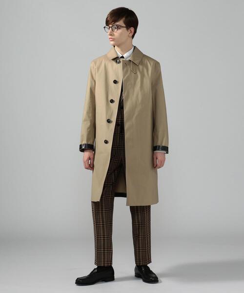 【別注】MACKINTOSH×TOMORROWLAND DUNKELD ステンカラーコート ダンケルド