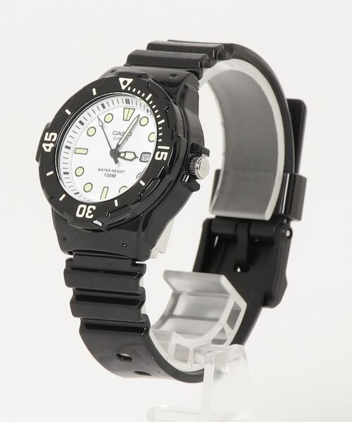 【 CASIO / カシオ 】チープカシオ アナログ腕時計 LRW-200H DKS