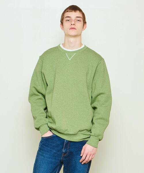 RUSSELL ATHLETIC × UNITED ARROWS & SONS ESSENTIAL C CREW SWEAT
