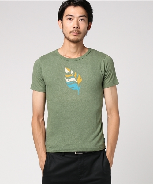 【GOHEMP】'LEAF' S/SL TEE by gravity free