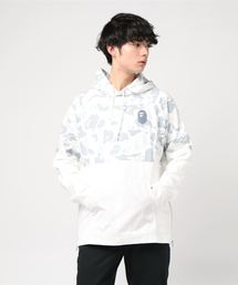 A BATHING APE(アベイシングエイプ)のSPACE CAMO WIDE SIDE ZIP PULLOVER HOODIE M(パーカー)
