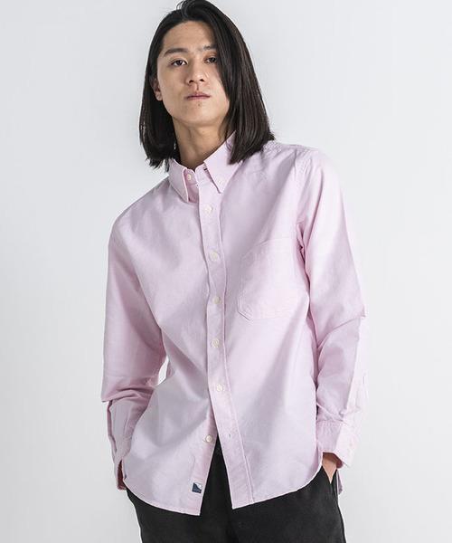 OX BD SHIRT/オックス ボタンダウンシャツ