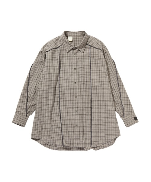 SPRING2020 BIG SHIRT【 N.HOOLYWOOD REBEL FABRIC BY UNDERCOVER】