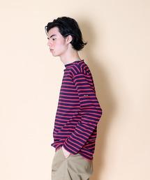 【 SAINT JAMES / セントジェームス 】 GUILDO  バスクシャツ R A 2501・U A 2503レッド系その他