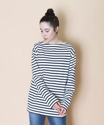 【 SAINT JAMES / セントジェームス 】 GUILDO  バスクシャツ R A 2501・U A 2503オフホワイト