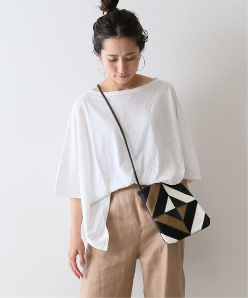 FRAMeWORK(フレームワーク)の「ポンチョ T-SHIRT◆(Tシャツ/カットソー)」|ホワイト