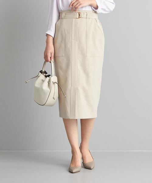 【WORK TRIP OUTFITS】★WTO BC タイトスカート ベルト付き
