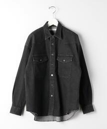 『 BRACTMENT ( ブラクトメント ) 』 デニム ウエスタン 2ポケット シャツ