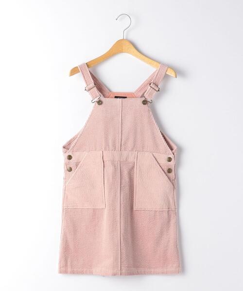 【キッズ】太コールジャンパースカート