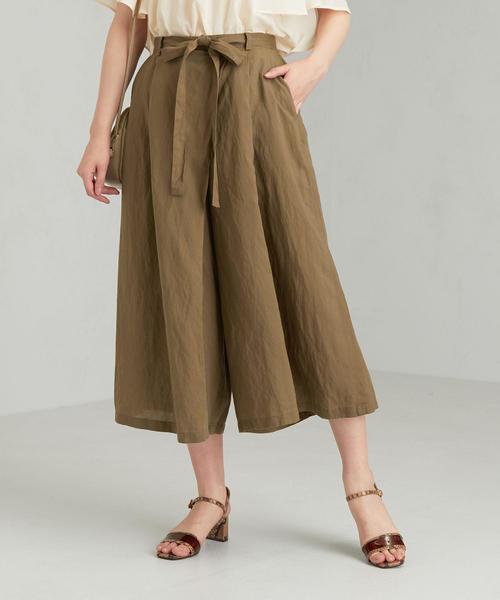 CFC L/Rタックフレア スカーチョ パンツ