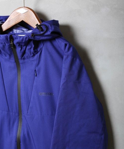 【OUTDOOR PRODUCTS】 防風マウンテンパーカー 撥水加工 コンシールファスナー 防風ストレッチ