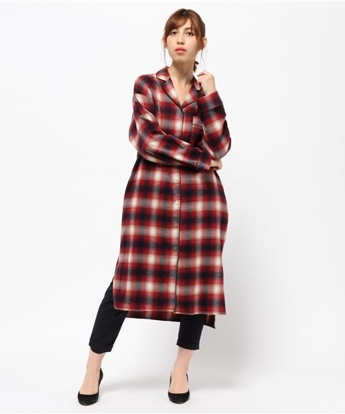 【正規通販】 MidiUmi パジャマロングシャツ(シャツワンピース) MidiUmi(ミディウミ)のファッション通販, AKAISHI 1974:d804a79b --- hausundgartentipps.de