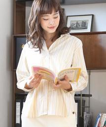 【LEE4月号掲載・定番アイテムがリニューアル】2WAYカシュクールシャツ