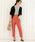 ViS(ビス)の「【EASY CARE】ベルト付きタックテーパードパンツ(パンツ)」|詳細画像