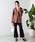 WEGO(ウィゴー)の「WEGO/リネンブレンドBIGポケットオーバーシャツ(シャツ/ブラウス)」|詳細画像