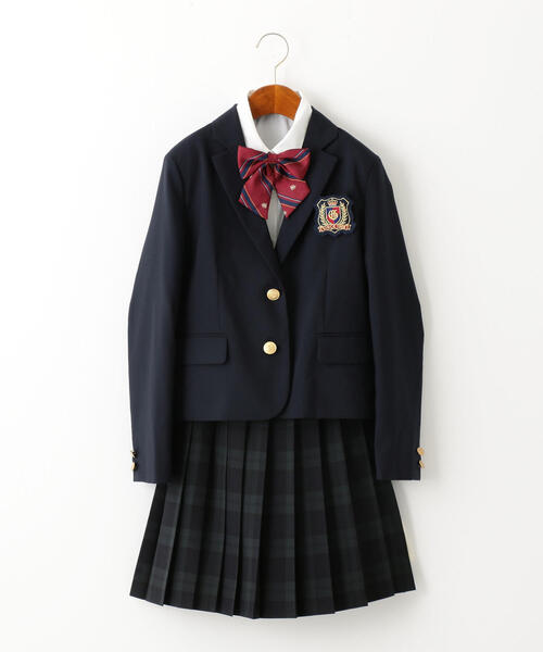 〔一部店舗限定〕ジャケット+スカート+ブラウス+リボンセット
