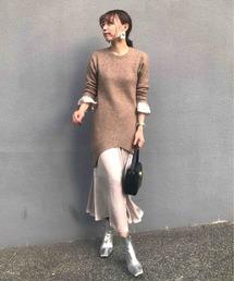 AMERI(アメリ)のUNDRESSED MERMAID TIGHT KNIT DRESS(ワンピース)