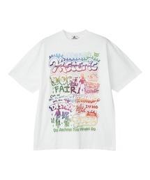 DOPE FAIR オーバーサイズTシャツホワイト