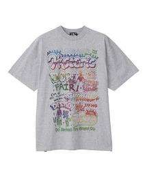 DOPE FAIR オーバーサイズTシャツトップグレー