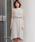 Pierrot(ピエロ)の「ベルト付き ノースリーブロングワンピース 袖なし(ワンピース)」|詳細画像