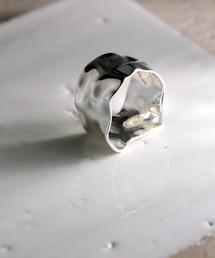 YArKA(ヤーカ)の【YArKA/ヤーカ】silver925warped 12mm ring[ta1]/歪12mmリング シルバー925(リング)