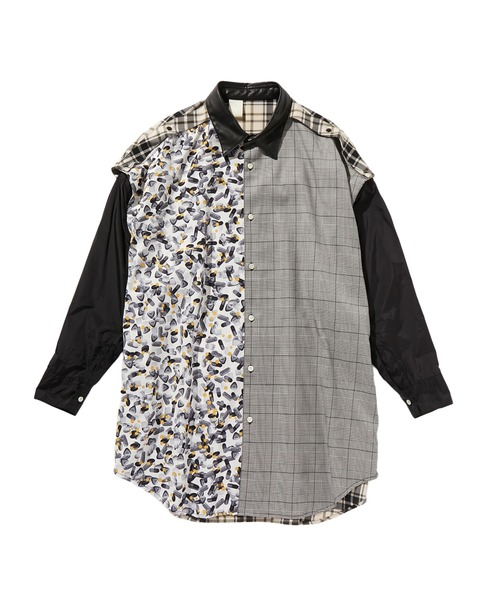 SPRING2020 CRAZY PATTERN BIG SHIRT