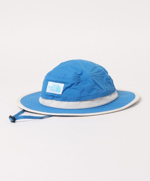 THE NORTH FACE(ザノースフェイス)の「THE NORTH FACE/ザ・ノースフェイス/Hat/サンシールドハットhorizon hat NNJ02006(ハット)」|ブルー