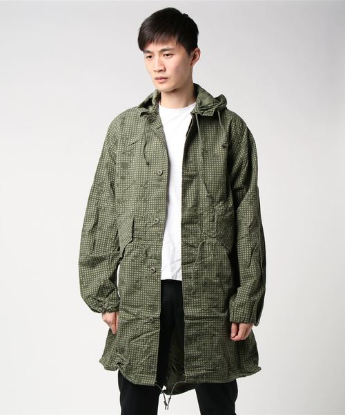 【US ARMY/US アーミー】 Desert Night Camouflage Parka