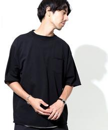 【WEB限定】カットオフスリーブ ビッグシルエットTシャツ