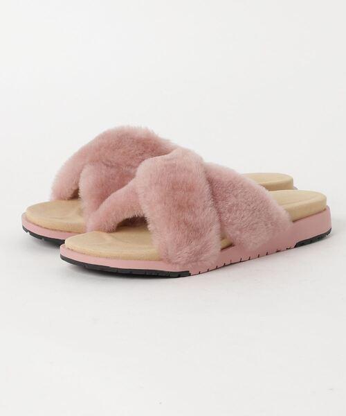 EMU Australia(エミューオーストラリア)の「Mareeba ??? ?????(サンダル)」|ライトピンク