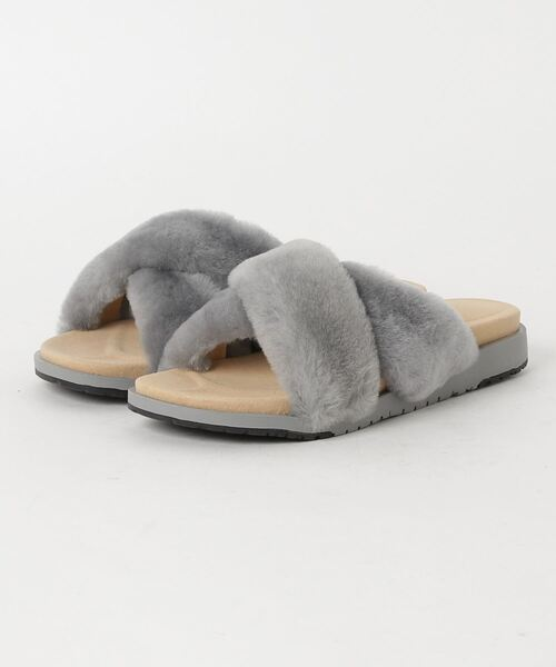 EMU Australia(エミューオーストラリア)の「Mareeba ??? ?????(サンダル)」|ライトグレー