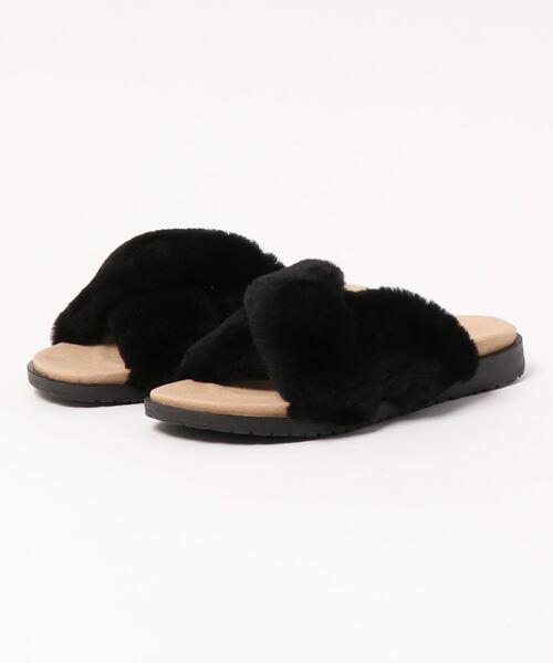 EMU Australia(エミューオーストラリア)の「Mareeba ??? ?????(サンダル)」|ブラック